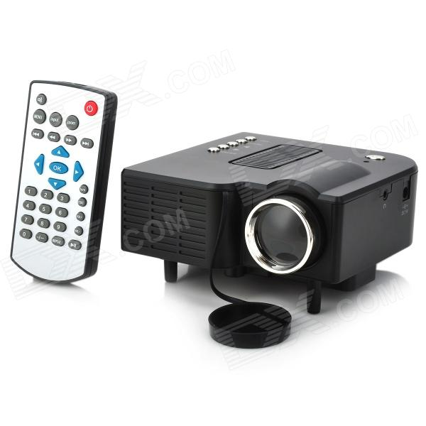 Uc28 pro mini led projector av vga usb sd hdmi for Usb projector reviews