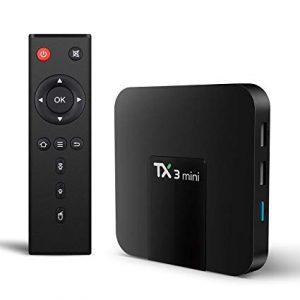 TX3 MINI Android 7.1 KODI 17.3 Amlogic S905W 4K TV Box 2GB/16GB WIFI LAN