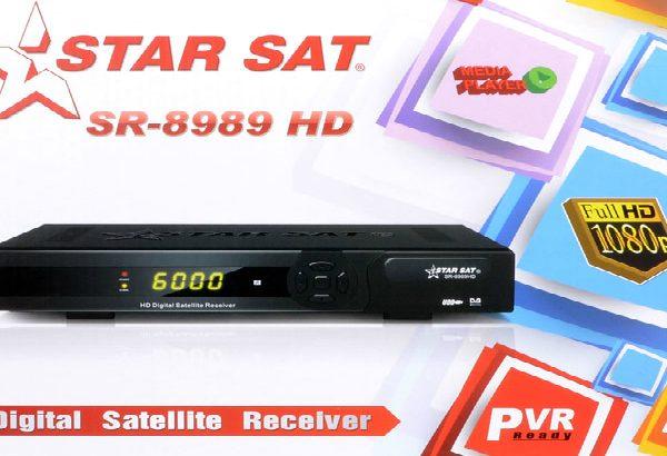 StarSat SR-8989 HD Digital Satellite Receiver (WIFI READY)