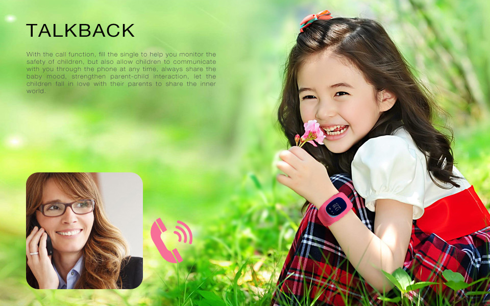 Q50 Kids Smart Watch GPS LBS Double Location Safe Children Watch Activity Tracker SOS Card