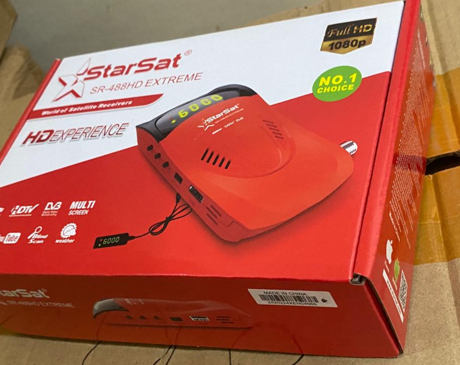 Starsat SR-488HD Extreme Satellite Receiver