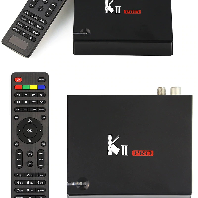 DVB T2 Android TV Box K2 PRO 2GB 16GB DVB-T2 DVB-S2 Android 7.1 Amlogic S905D Dual WIFI HEVC KII pro 4K Smart TV Box