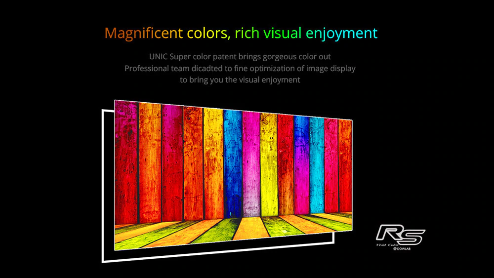 Unic UC68 Home 3D Projector –