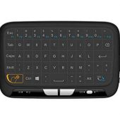 2.4GHz Mini Wireless Keyboard and Touchpad Mouse Combos, H18 Rechargeable Remote Control for Google Android Smart TV Box, PC, Linux, HTPC, IPTV, XBMC, Windows