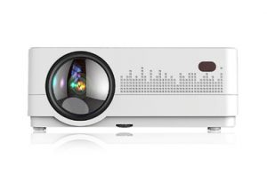 HQ2 WHITE 3000 LUMENS HD 1280*720P LED CINEMA BEAMER HOME THEATER PROJECTOR
