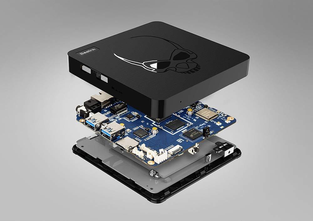 Beelink GT-King 4GB+64GB TV Box Android 9.0 - Amlogic S922X Hexa-core ARM G52 4K H.265 Smart Streaming Media Players Open-SDK 2.4+5.8G WiFi/BT 4.1 / 1000Mpbs/LAN