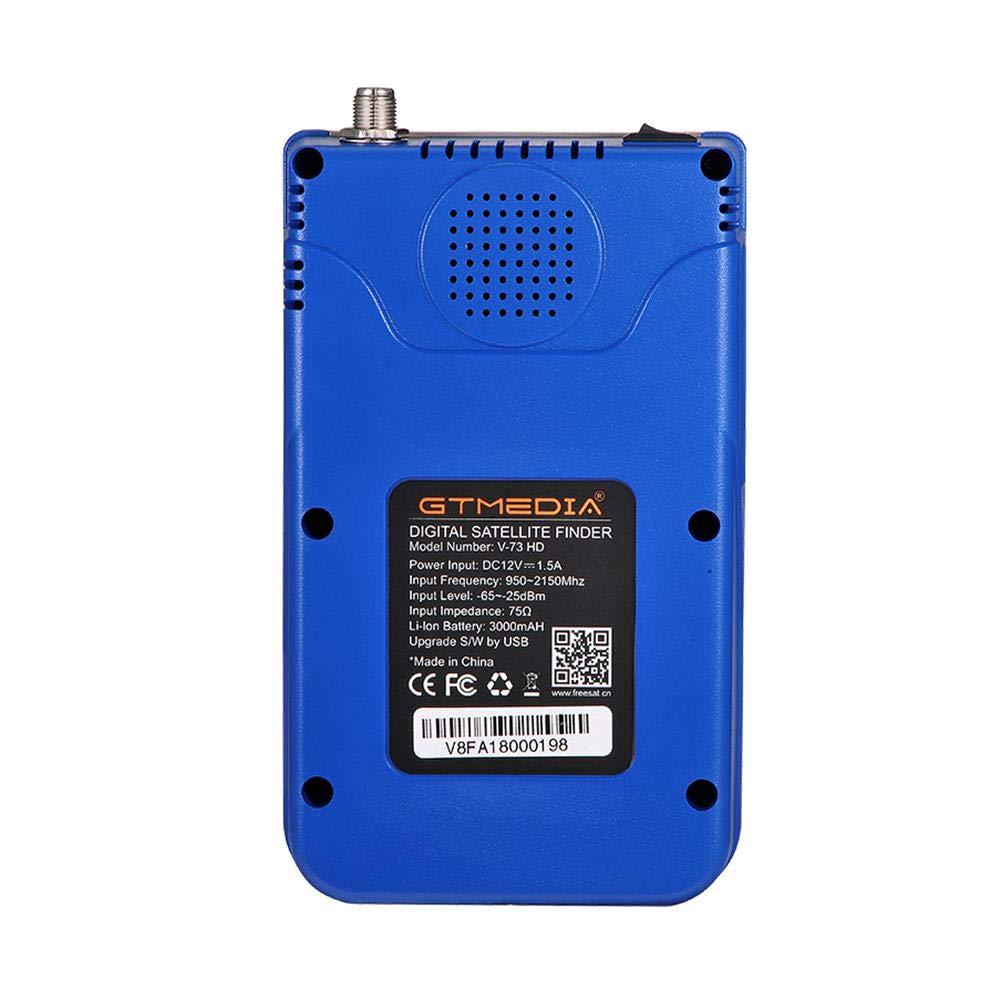 Nano Classic GTMEDIA Freesat V8 Digital Satellite Finder Meter Spectrum TV Signal Finder Meter DVB-S/S2/S2X HD Digital Signal Detector FTA 1080P HD MPEG-2 MPEG-4 3.5inch LCD Receiver