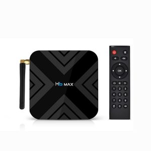 H6 MAX Android 9.0 TV BOX 4GB DDR3 32GB EMMC Allwinner H6 Chip Smart Set Top Box Support 4K 6K 2.4G WIFI TV BOX