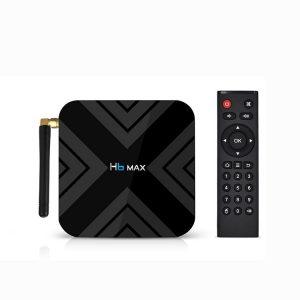 H6 MAX Android 9.0 TV BOX 4GB DDR3 32GB EMMC Allwinner H6 Chip Smart Set Top Box Support 4K 6K 2.4G WIFI TV BOX