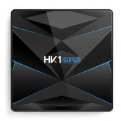 HK1 Super Android 9.0 TV BOX Rockchip RK3318 4GB RAM 64G ROM USB 3.0 2.4G/5G Dual WIFI BT4.0 HDR 4K 3D Set Top Box Media Player