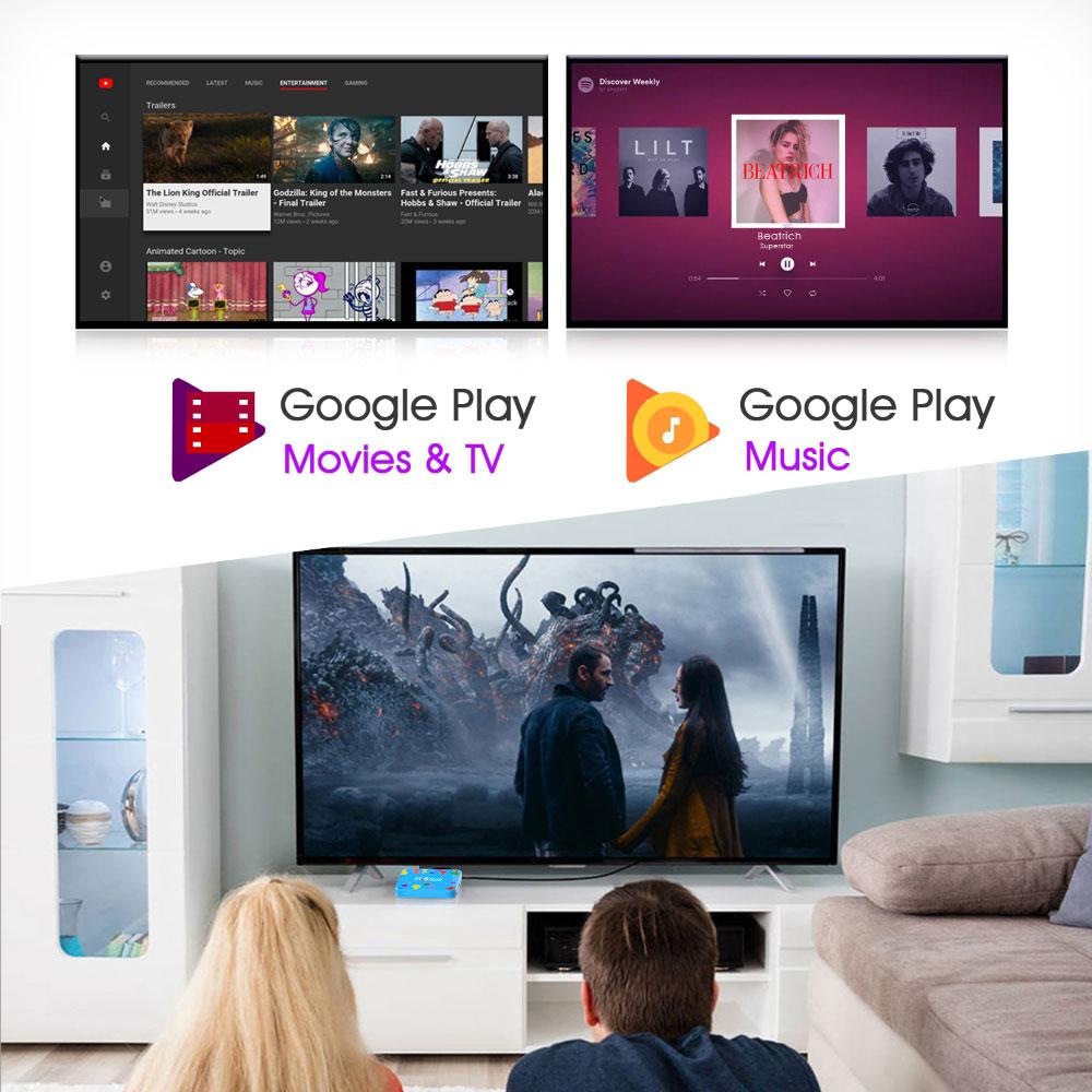 H96 Mini H6 Allwinner H6 4GB RAM 128GB ROM 5G WIFI bluetooth 4.0 Android 9.0 4K 6K TV Box