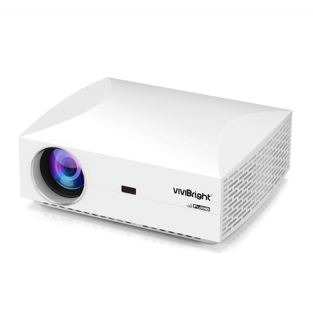 VIVIBRIGHT F30 LCD Projector Home Entertainment Commercial FHD 1920 x 1080P 4200 Lumens