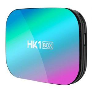 HK1 Box x3 Amlogic S905X3 Smart Android 9.0 TV BOX 4GB RAM 64GB ROM 2.4G 5G dual wifi Bluetooth 4K UHD Set Top Box