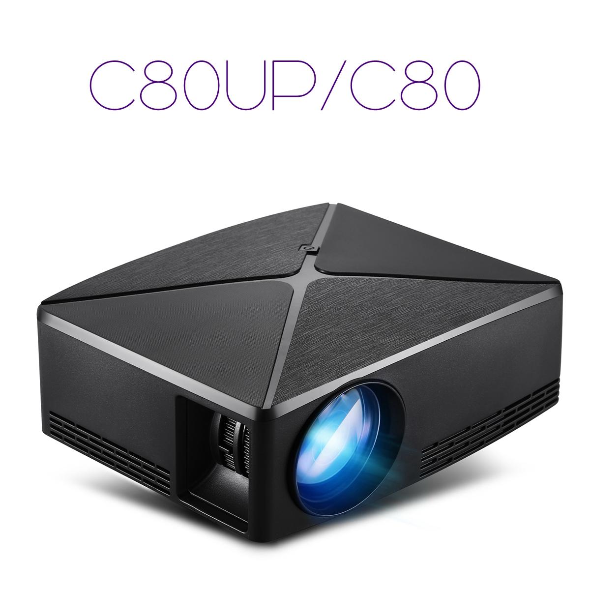 VIVIBRIGHT C80 LCD Home Theater Projector - Black