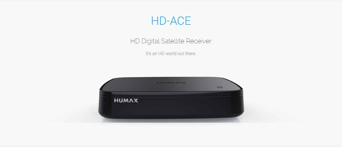 Humax HD-ACE High Definition HD Digital Satellite Receiver