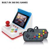 Retro Arcade FC 360 in 1 Mini Handheld Video Game Console 3 inch