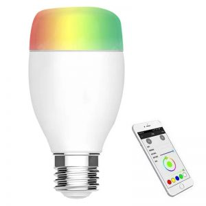 LE7 WiFi Smart Bulb compatible with Alexa Google Home - Crystal Cream