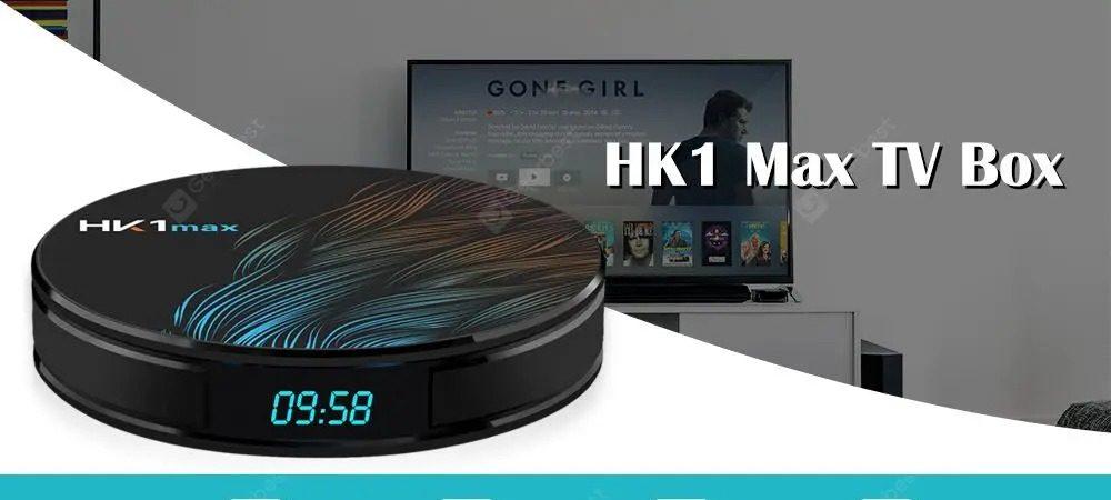 HK1 Max Android 9.0 4K TV Box 2GB RAM 16GB ROM - RK3318