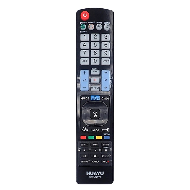 LG TV Compatible Remote Control - Huayu RM-L930+1 LCD LED TV Universal Remote Control