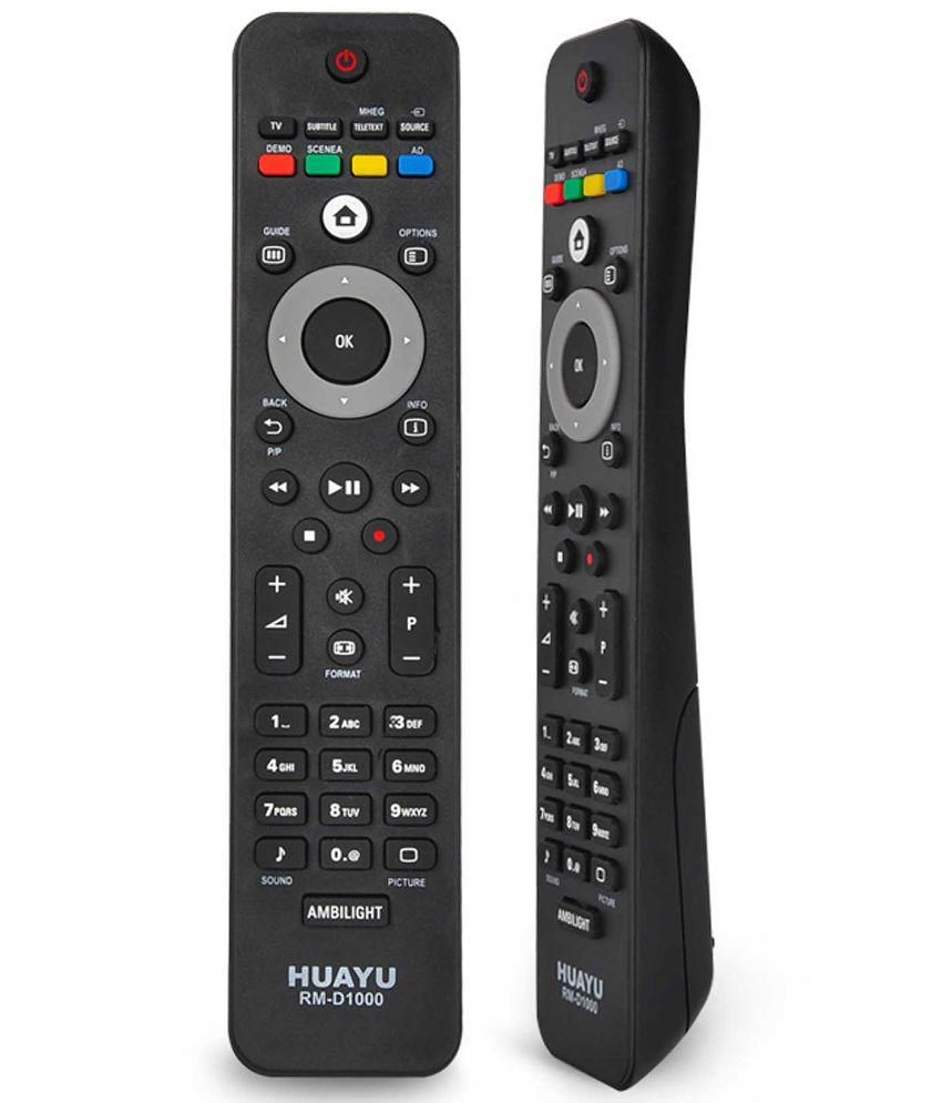 Philips TV Compatible Remote Control - Huayu RM-D1000 LCD LED TV Remote Control
