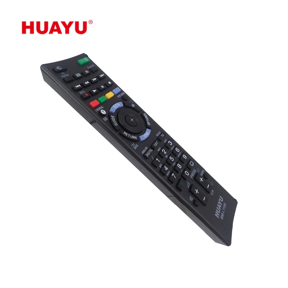 Sony Compatible Remote Control - Huayu RM-L1165 LCD LED TV Remote Control