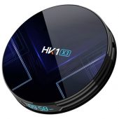 HK1 X3 Android Smart TV Box - 4GB 64GB Android 9 Amlogic S905X3 Dual WiFi Bluetooth 1000Mbps LAN