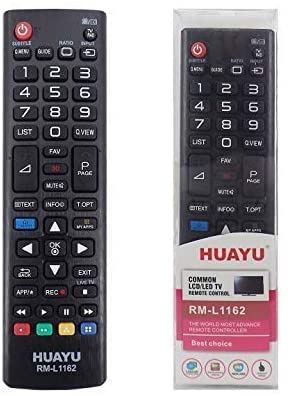 LG TV Compatible Remote - Huayu RM-L1162 LCD LED TV Universal Remote Control