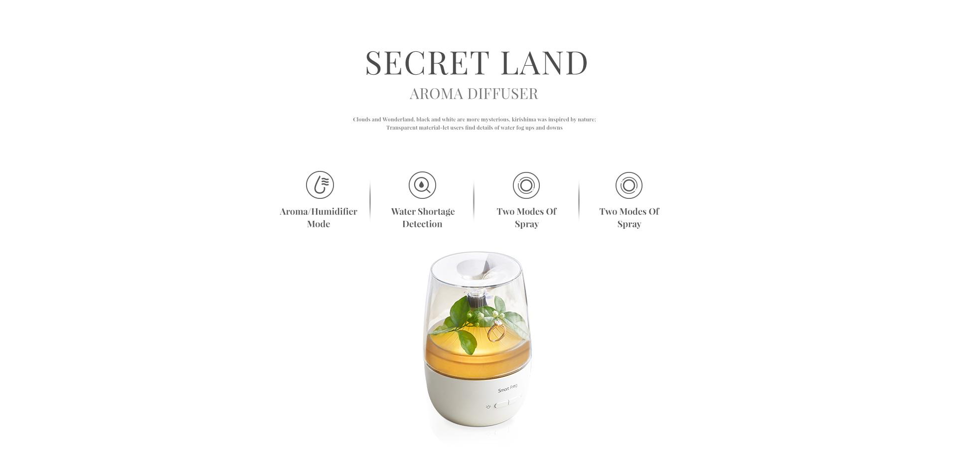 Smart Frog Secret Land KW-AD101 Aroma Diffuser