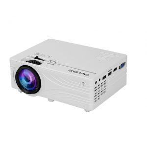 Owlenz SD100 HD Projector - 2000 Lumens 720p Multimedia Home Projector