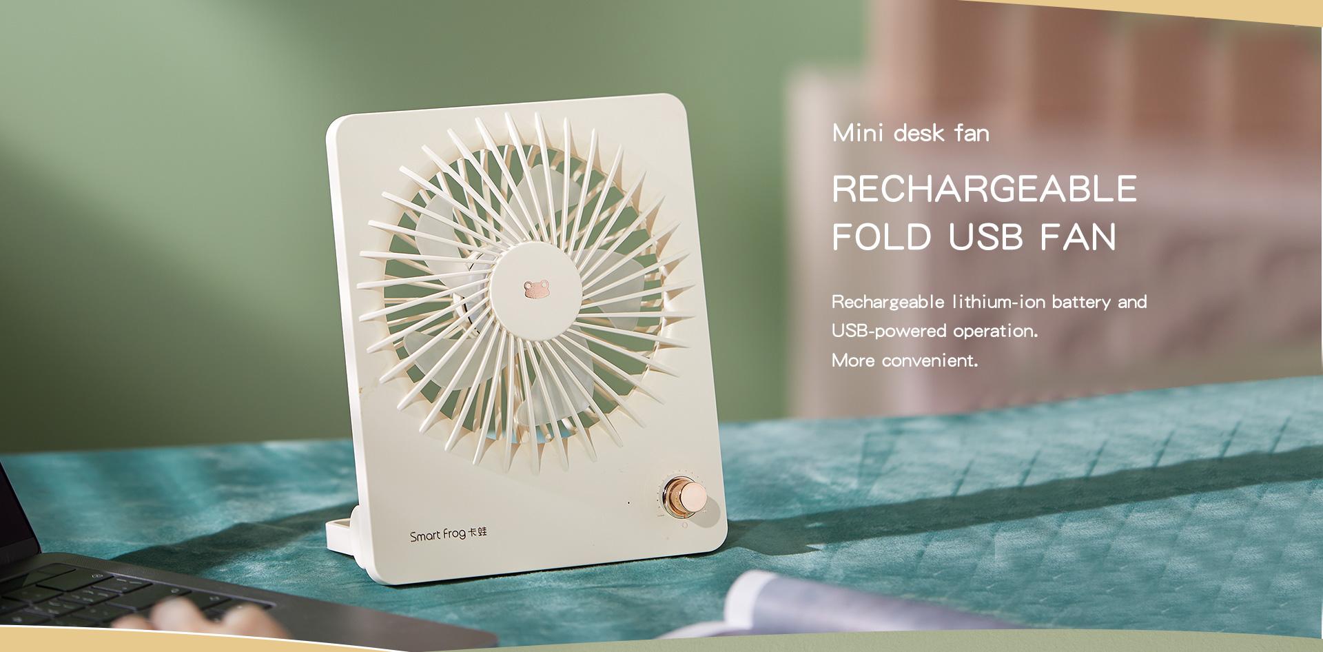 Smart Frog The Promise 1 USB Fan - KW-MF300 - White