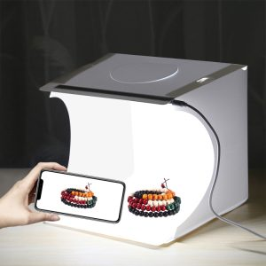 Puluz PU5021 LED Portable Photo Studio - 20cm Folding Product Shooting Box