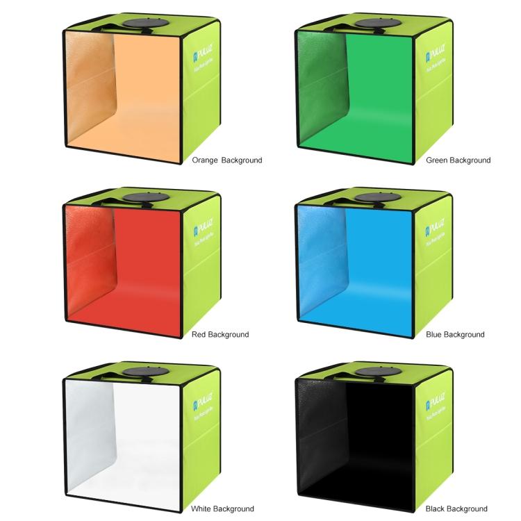 Puluz PU5032G 30cm Foldable LED Ring Light Studio - Product Shooting Box Kit