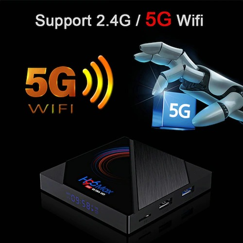 H96 MAX H616 Android 10 TV Box Youtube Media Player 2.4G5G Wifi 2GB 16GB Quad Core Smart Android TV Box