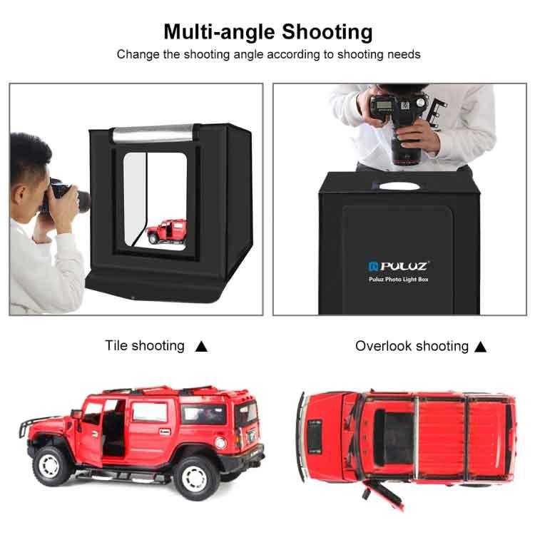 Puluz PU5040 40cm Photo Studio - Photo Shooting Tent Box Kit