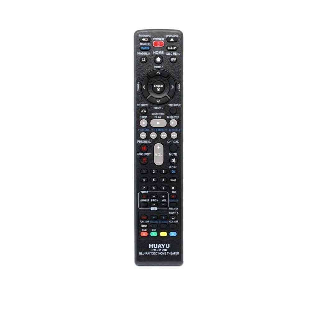 LG Home Theater Compatible Remote - Huayu RM-D1296 Blu-Ray Disc Home Theater Remote Control