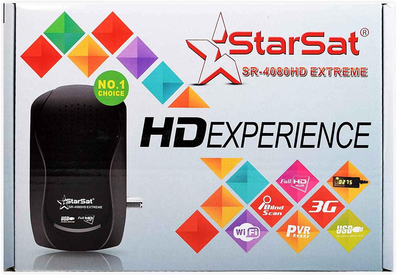 Starsat SR-4080HD Extreme Satellite HD Receiver